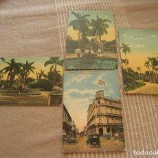Postales: ANTIGUAS POSTALE DE CUBA 1936/46. Lote 194695227