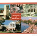 Postales: POSTAL POST CARD CARTE POSTALE UNIVERSITY OF WISCONSIN MADISON CAMPUS UNIVERSIDAD USA UNITED STATES. Lote 123768027