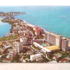 Postales: TARJETA POSTAL. GREETINGS FROM PUERTO RICO. 44351. SAN JUAN. LA CONCHA, CONDADO BEACH HOTELS. Lote 124284899