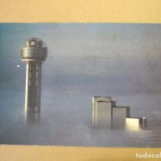 Cartes Postales: THE REUNION TOWER AND HOTEL ONE EARLY DAWN. CIRCULAD 1986. Lote 126111083