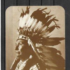 Postales: 150- EXTRAORDINARIA FOTO-POSTAL JEFE JOSEOH - INDIO NATIVOS AMERICANOS -. Lote 207158961