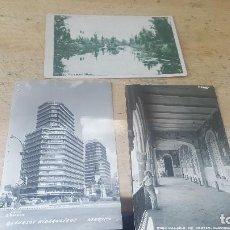Postales: 3 POSTALES DE MEXICO, XOCHIMILCO, RECURSOS HIDRAULICOS, PALACIO DE CORTES CUERNAVACA. Lote 126774371