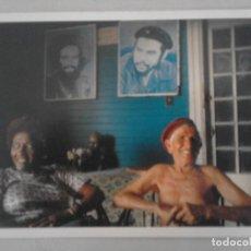 Postales: POSTAL DE CUBA. CIUDAD HABANA. INTERIOR EN JAIMANITAS CON FOTOS DEL CHE Y CAMILO. Lote 126824991