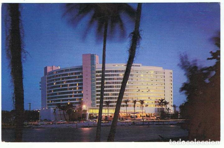 Postal Usa Fontainebleau Hotel Miami Florida Comprar Postales