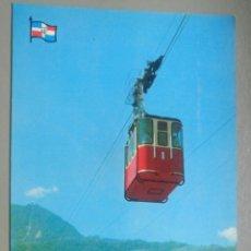 Cartoline: POSTAL SANTO DOMINGO 2137 PUERTO PLATA TELEFERICO FRENTE A ISABEL TORRES COSTA DE AMPARO 1975. Lote 127360531