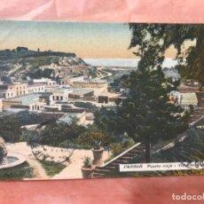 Postales: PARANÁ ARGENTINA VISTA PUERTO VIEJO CIRCULADA PP XX. Lote 127492715