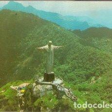 Postales: BRASIL & CIRCULADO,RÍO DE JANEIRO, EL CRISTO REDENTOR, PARQUE NACIONAL DE TIJUCA, LISBOA 1979 (159). Lote 127979159