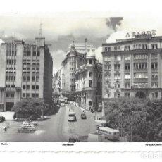 Postales: FOTO POSTAL SIN IMPRESIÓN EN EL REVERSO- BAHÍA. SALVADOR.- PRAÇA CASTRO ALVES- BRASIL (AÑOS 50). Lote 128568103