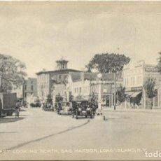 Postales: E.E.U.U. .- LONG ISLAND .- MAIN STREET LOOKING NORTH , SAG HARBOR .- EDITION TOMLIN . Lote 128584191