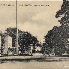 Postales: E.E.U.U. .- LONG ISLAND .- MAIN STREET LOOKING SOUTH , SAG HARBOR .- EDITION TOMLIN . Lote 128584259