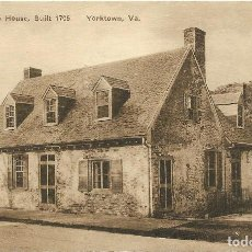 Postales: U.S.A. YORKTOWN , VA. DUDLEY DIGGES HOUSE , BUILT 1705 .- EDITION ALBERTYPE CO. . Lote 128585599