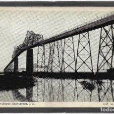 Postales: U.S.A .- CHARLESTON , S.C. COOPER RIVER BRIDGE .- C-17 BAYARD WOOTTEN . Lote 128614347