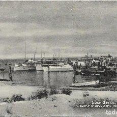 Postales: U.S.A .- DOCK SCENE , CHERRY GROVE , FIRE ISLAND , N.Y. .- EDITION TOMLIN . Lote 128615551