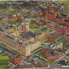 Postales: U.S.A .- COOK COUNTY HOSPITAL , CHICAGO Nº 164. Lote 128616767