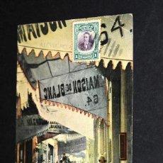 Postales: TARJETA POSTAL CALLE OBISPO. HABANA. CUBA 12. Lote 128649727
