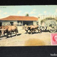 Postales: TARJETA POSTAL CUBA. YUNTAS DE BUEYES 11. Lote 128649847
