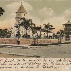 Cartes Postales: CUBA .- GUANTANAMO .- PLAZA DE ARMAS .- ESCRITA 1907 SIN CIRCULAR . Lote 129239287