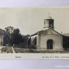 Postales: CUBA IGLESIA D SAN DIEGO DE LOS BAÑOS. Lote 129728035