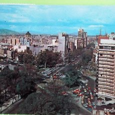 Postales: MÉXICO. HOTEL CONTINENTAL HILTON. USADA CON SELLO. COLOR. Lote 130145724