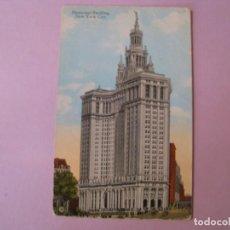 Postales: POSTAL DE ESTADOS UNIDOS. NUEVA YORK. NEW YORK CITY. MUNICIPAL BUILDING. ED. MOSES KING.. Lote 131052424