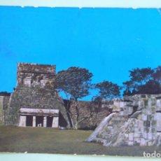 Postales: MÉXICO. YUCATÁN. CHICHEN ITZA. USADA CON SELLO. COLOR. VER FOTO.. Lote 131436139