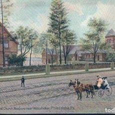 Postales: POSTAL PHILADELPHIA - PA - ST TIMOTHY'S EPISCOPAL CHURCH - ROXBORO NEAR WISSAHICKON - ESTADOS UNIDOS. Lote 132275546