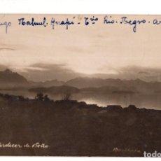 Postales: LAGO NAHUEL HUAPI EN LA PATAGONIA ARGENTINA 1931. POSTAL FOTOGRÁFICA.. Lote 132277298
