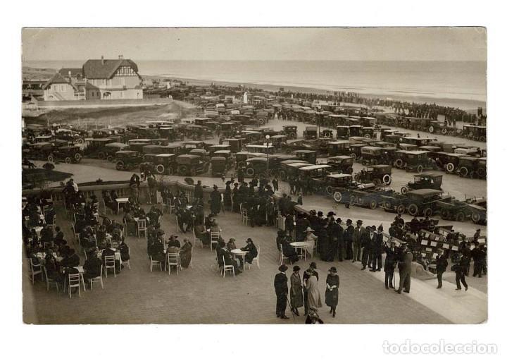 MONTEVIDEO (URUGUAY) 1924 POSTAL FOTOGRÁFICA. CIRCULADA A MADRID (Postales - Postales Extranjero - América)