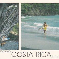 Postales: COSTA RICA. PUERTO ESCONDIDO. COSTA DEL PACÍFICO.. Lote 132727958