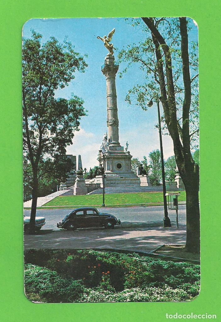 POSTAL COLUMNA DE LA INDEPENDENCIA, MEXICO D.F. CIRCULADA (Postales - Postales Extranjero - América)