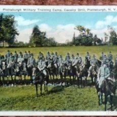 Postales: PLATTSBURGH MILITARY TRAINING CAMP - NEW YORK. Lote 133462594