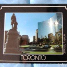 Postales: UNIVERSITY AVENUE DE TORONTO (CANADA).. Lote 133600102