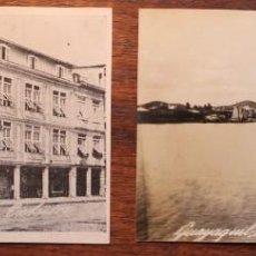 Postales: 2 FOTOS, UNA DE ELLAS POSTAL DE GUAYAQUIL- ECUADOR AÑOS 20. Lote 133820674