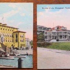 Postales: POSTAL ANTIGUA- FOTO DE CURAZAO -CURAÇAO D.W.J.,THE CALAN INWARD-AÑOS 20. Lote 133821846