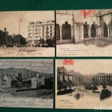 Postales: POSTALES CENTENARIAS.. BARCELONA 5...ESCRITAS. Lote 134051130