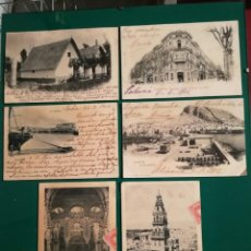 Postales: POSTALES CENTENARIAS.. VARIADAS,,6...ESCRITAS. Lote 134054070