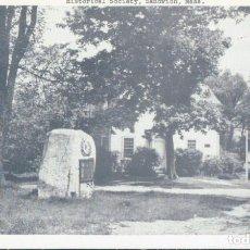 Postales: POSTAL MASSACHUSETTS - HISTORICAL SOCIETY - SANDWICH - MASS - FAIRBANKS CARD COMPANY. Lote 134187110
