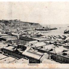 Postales: CHILE, VALPARAISO, CIRCULADA A ALEMANIA CON SELLO GERMANIA. Lote 134320602