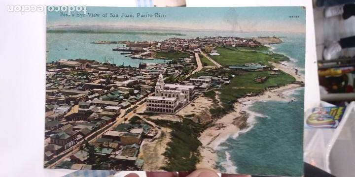 POSTAL PUERTO RICO BIRD'S EYE VIEW OF SAN JUAN (Postales - Postales Extranjero - América)