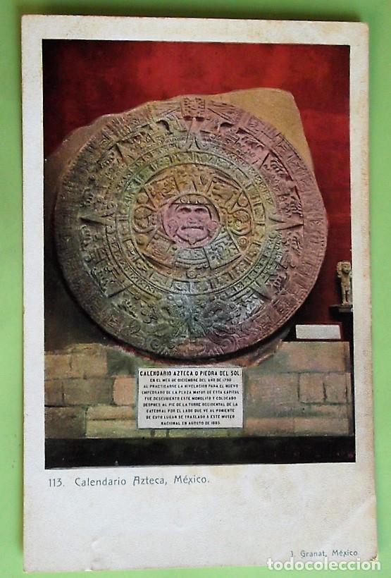 Calendario Azteca.Mexico 113 Calendario Azteca Nueva Color