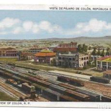 Postales: REPUBLICA DE PANAMA .- VISTA DE PAJARO DE COLON .- ESTACION .- EDICION I.L. MADURO Nº 562. Lote 136794482