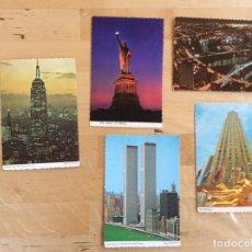 Postales: NUEVA YORK POSTALES AÑOS 60S. Lote 137337594