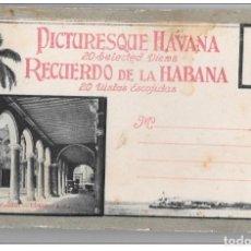 Postales: CUBA - CARNET CON 13 POSTALES AÑOS 30 - BUEN ESTADO - ÁLBUM Nº 3 - HABANA. Lote 139454170