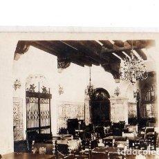 Postales: TARJETA POSTAL FOTOGRAFICA DE CUBA. CENTRO ASTURIANO DE LA HABANA. ASPECTO DEL CAFE.. Lote 139952330