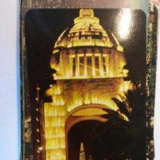 Cartoline: BJS.MONUMENTO A LA REVOLUCION MEXICO.ESCRITA. EDT.TARJETA POSTAL.. Lote 141871146