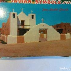Cartoline: BJS.TAOS PUEBLO CHURCH,NEW MEXICO.SIN USAR.EDT. PETLEY.. Lote 141875230