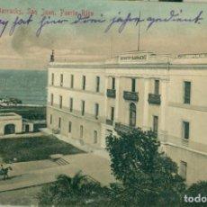 Postales: PUERTO RICO SAN JUAN. MILITAR CUARTEL DE INFANTERÍA CIRCULADA EN 1909.. Lote 142158126