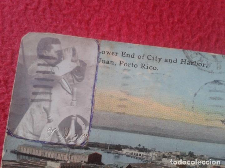 Postales: TARJETA POSTAL POST CARD CARTE POSTALE SAN JUAN PORTO PUERTO RICO USA END OF CITY AND HARBOR VER FOT - Foto 3 - 142377454