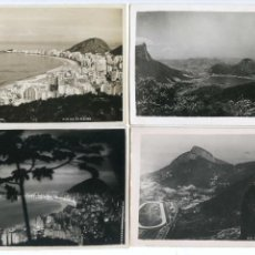 Postales: BRASIL. LOTE SEIS POSTALES DE RIO DE JANEIRO. Lote 142472850