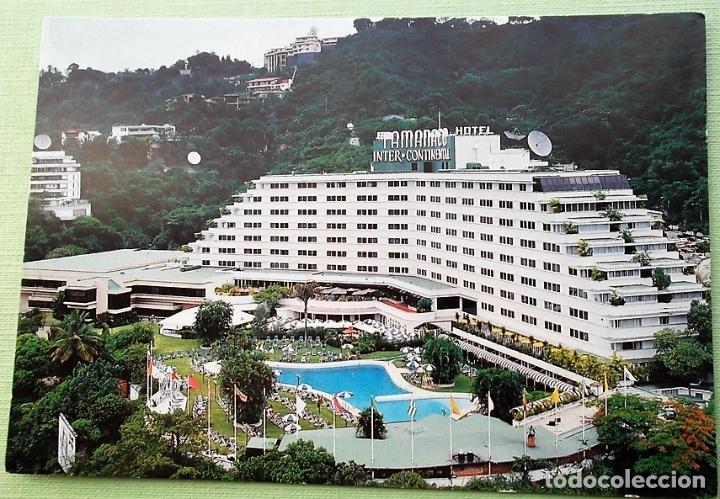 CARACAS. HOTEL TAMANACO INTER-CONTINENTAL. NUEVA. COLOR (Postales - Postales Extranjero - América)